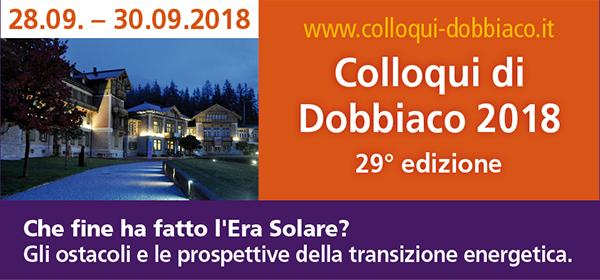 Colloqui di Dobbiaco 2018